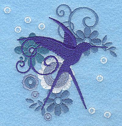 Embroidery Design: Wings of Fantasy E small 3.77w X 3.88h