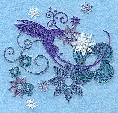 Embroidery Design: Wings of Fantasy F small 3.89w X 3.78h