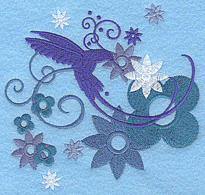 Embroidery Design: Wings of Fantasy F large 4.97w X 4.83h