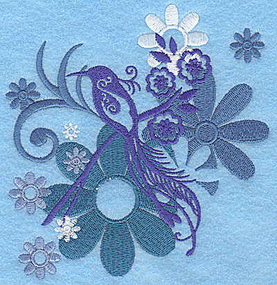 Embroidery Design: Wings of Fantasy G large 4.80w X 4.96h