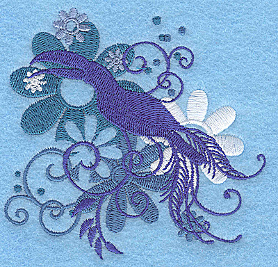 Embroidery Design: Wings of Fantasy H small 3.86w X 3.72h