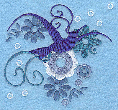 Embroidery Design: Wings of Fantasy I small 3.85w X 3.84h
