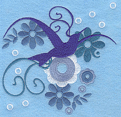 Embroidery Design: Wings of Fantasy I large 4.93w X 4.91h