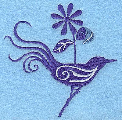 Embroidery Design: Bird A 3.82w X 3.89h