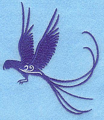 Embroidery Design: Bird C 3.31w X 3.86h