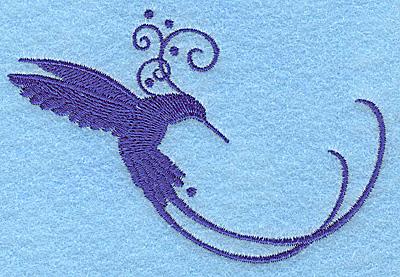 Embroidery Design: Bird F 3.89w X 2.63h