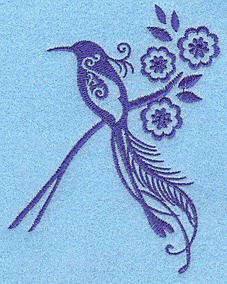 Embroidery Design: Bird G 3.05w X 3.86h