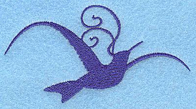 Embroidery Design: Bird I 3.89w X 2.07h