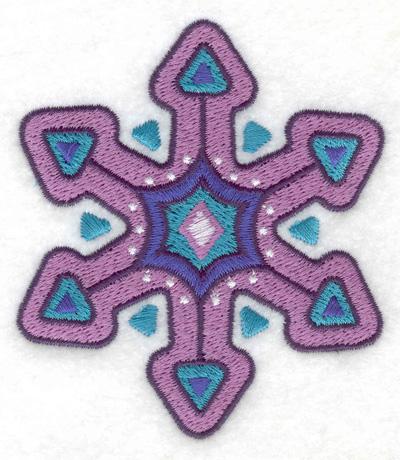 Embroidery Design: Snoflake 1 3.23w X 3.66h