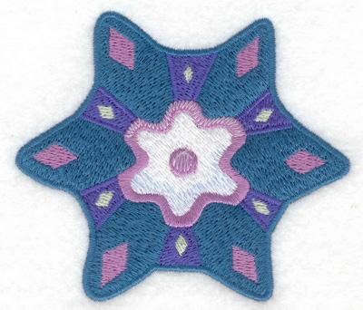 Embroidery Design: Snowflake 2 3.57w X 3.10h