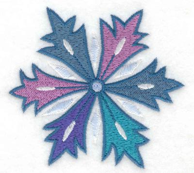 Embroidery Design: Snowflake 3 3.53w X 3.25h