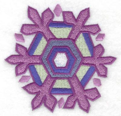 Embroidery Design: Snowflake 4 3.41w X 3.31h
