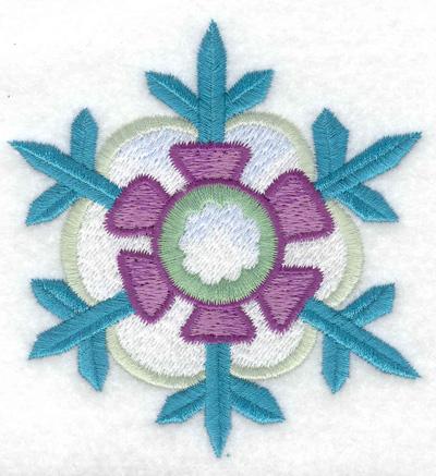 Embroidery Design: Snowflake 5 3.34w X 3.55h