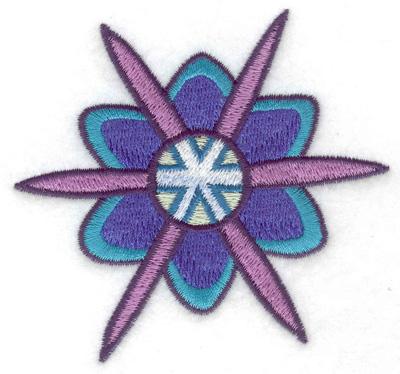 Embroidery Design: Snowflake 6 3.53w X 3.23h