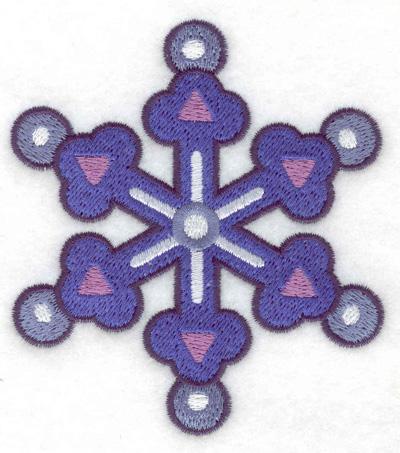 Embroidery Design: Snowflake 7 3.27w X 3.68h