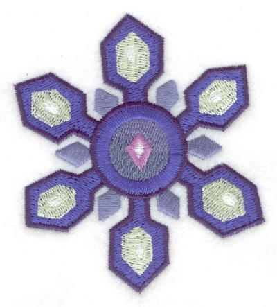 Embroidery Design: Snowflake 8 3.10w X 3.52h