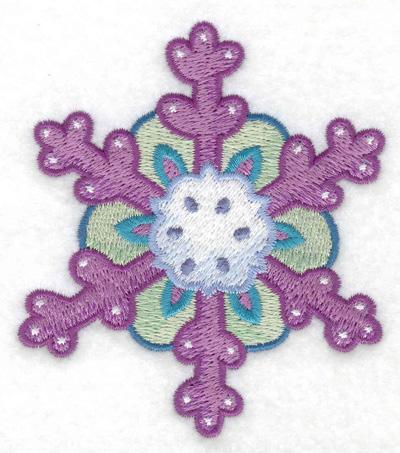 Embroidery Design: Snowflake 9 3.18w X 3.64h