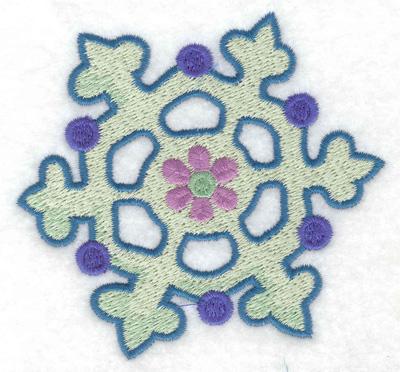 Embroidery Design: Snowflake 10 3.53w X 3.29h