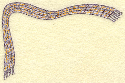 Embroidery Design: Corner scarf A large 6.76w X 4.54h