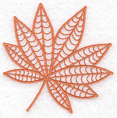 Embroidery Design: Leaf 2 small 3.53w X 3.46h