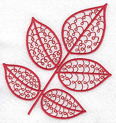 Embroidery Design: Leaf 10 medium4.71w X 4.98h