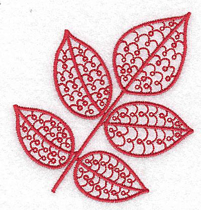 Embroidery Design: Leaf 10 small 3.35w X 3.54h