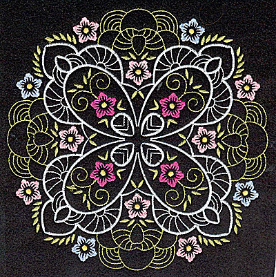 Embroidery Design: Quilt Design 1 large 6.99w X 6.99h