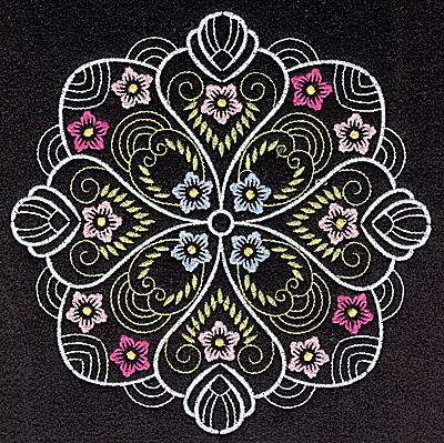 Embroidery Design: Quilt Design 3 large 6.96w X 6.96j