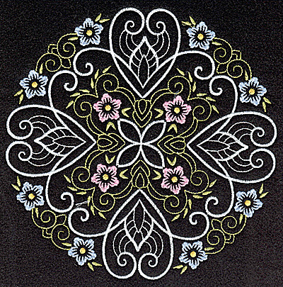 Embroidery Design: Quilt Design 4 large 6.97w X 6.97h