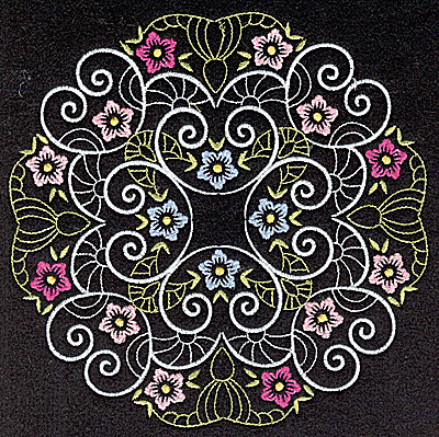 Embroidery Design: Quilt Design 5 large 6.97w X 6.97h