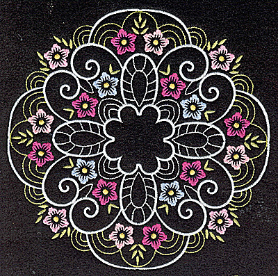Embroidery Design: Quilt Design 9 large 6.99w X 6.99h