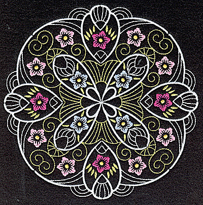 Embroidery Design: Quilt Design 10 large 6.98w X 6.98h