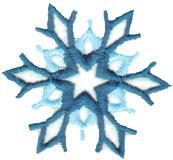 """Embroidery Design: Elegant Snowflake2.49"""" x 2.20"""""""