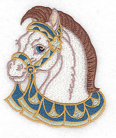 Embroidery Design: Carousel Horse 2 3.14w X 3.75h