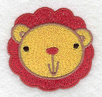 Embroidery Design: Lion head 2.11w X 2.02h
