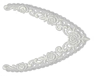 "Embroidery Design: Lace Jumbo 59.53"" x 7.51"""