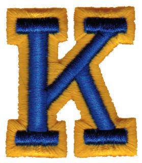 "Embroidery Design: Athletic Foam K1.78"" x 1.99"""