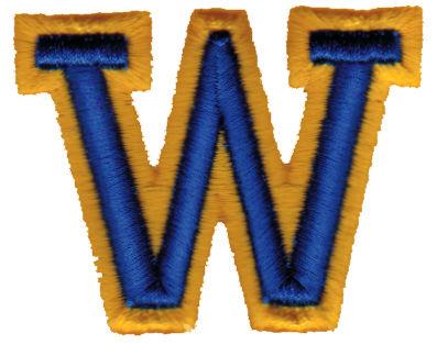 "Embroidery Design: Athletic Foam W2.54"" x 1.99"""