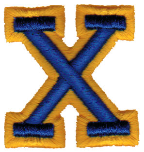 "Embroidery Design: Athletic Foam X1.90"" x 1.98"""