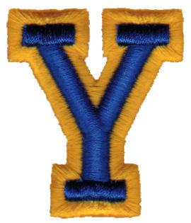 """Embroidery Design: Athletic Foam Y1.71"""" x 1.98"""""""