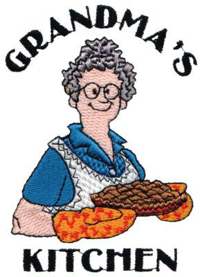 """Embroidery Design: Grandma's Kitchen3.02"""" x 4.17"""""""