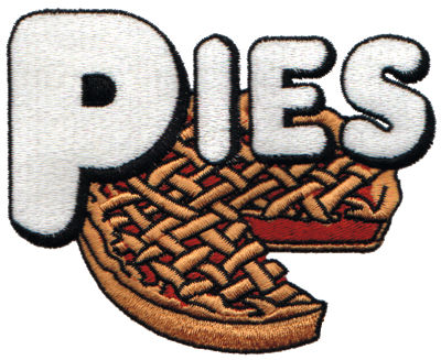 "Embroidery Design: Take a Slice of Pie4.20"" x 3.32"""