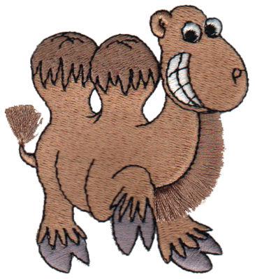 """Embroidery Design: Fringe Camel2.70"""" x 3.05"""""""