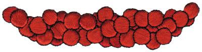 "Embroidery Design: Gravel (Rocks)4.24"" x 1.01"""