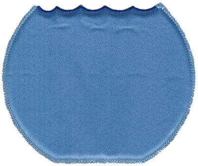 """Embroidery Design: Water Background (Lg)6.03"""" x 4.96"""""""