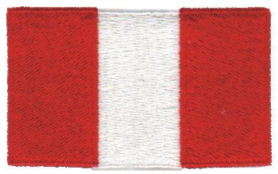 """Embroidery Design: Peru2.32"""" x 1.52"""""""