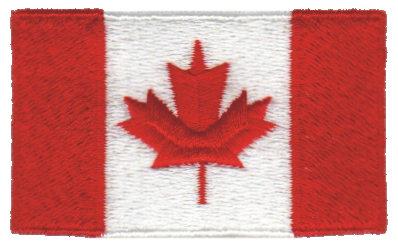 """Embroidery Design: Canada2.54"""" x 1.52"""""""