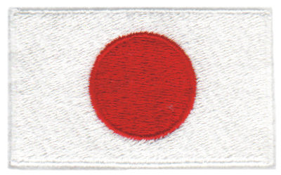 """Embroidery Design: Japan2.54"""" x 1.52"""""""