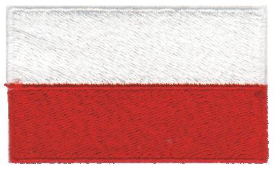"Embroidery Design: Poland2.54"" x 1.52"""