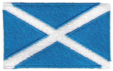 """Embroidery Design: Scotland2.54"""" x 1.52"""""""